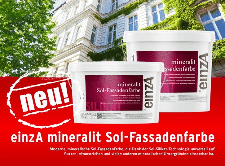 EinzA Mineralit Sol-Fassadenfarbe