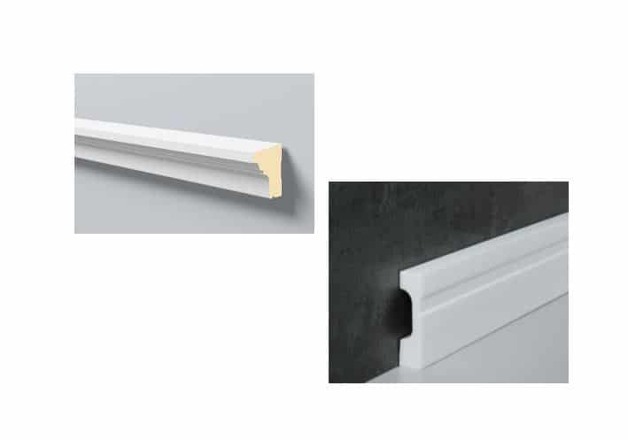 NMC Fußbodenleiste / Fensterbank