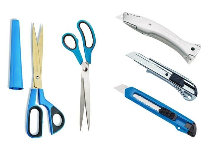 Scheren und Messer