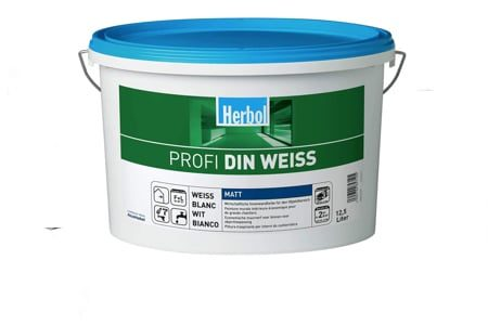 Herbol Profi DIN Weiss 12,5 Liter - Farben online kaufen